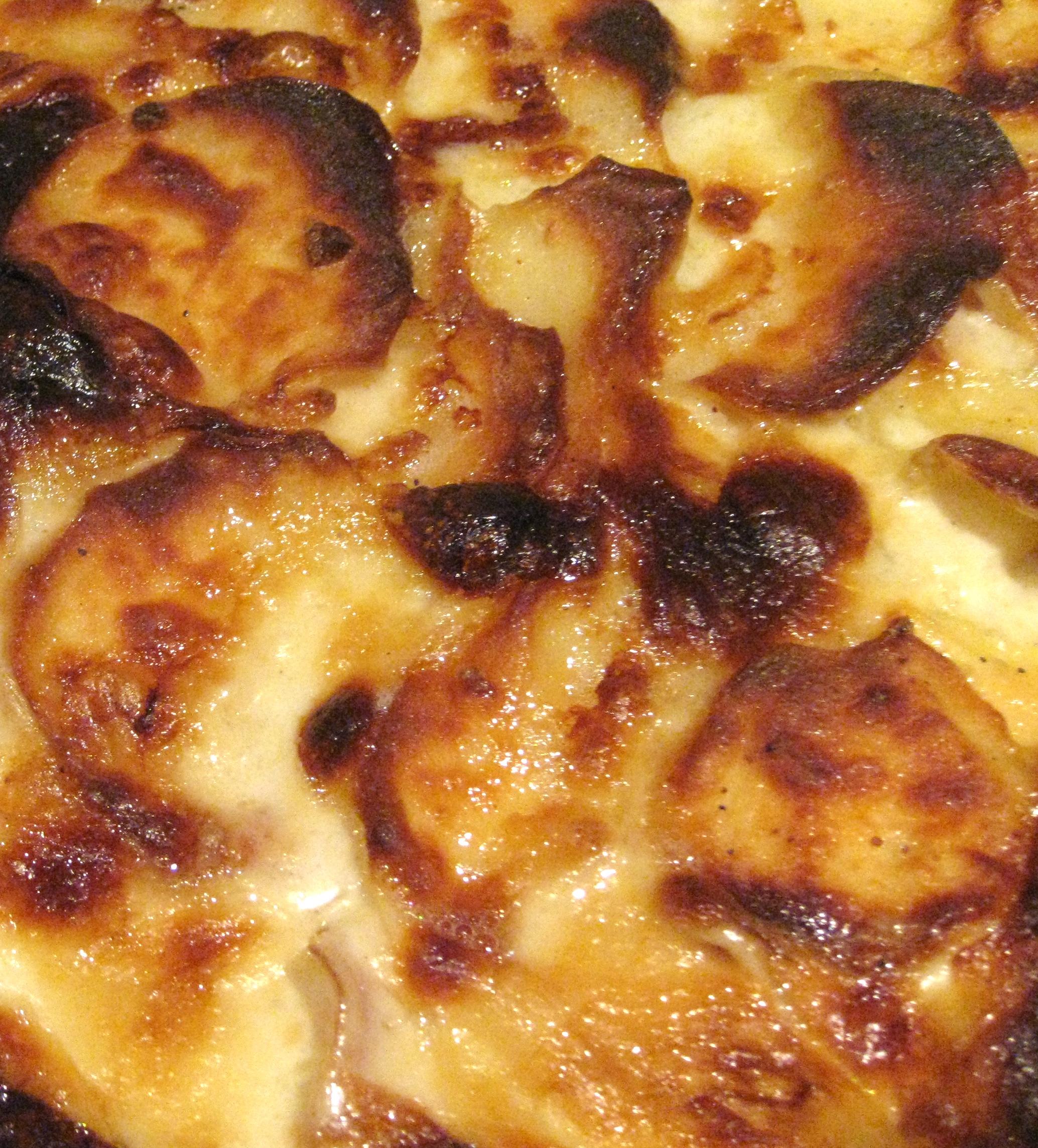pommes dauphinois, romige aardappelschotel