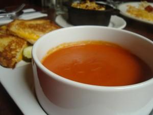 tomatensoep met kip