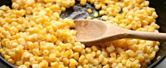 gebakken mais