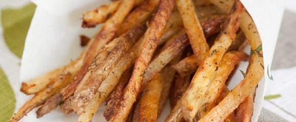 zout en peper frietjes